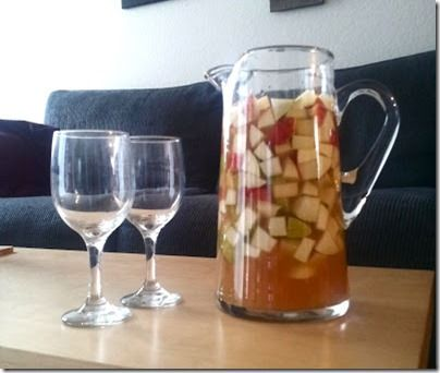 Apple Cider Sangria and other fall adult drinks