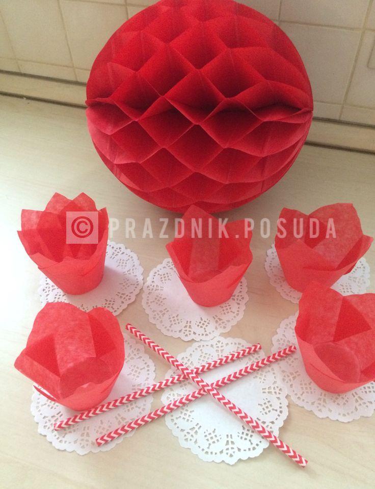 шар соты , формы для кексов