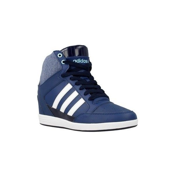 adidas shoes high tops blue. adidas super wedge w shoes (high-top trainers) ($175) ❤ liked on polyvore featuring shoes, sneakers, high top trainers, white, women, white hi sneakers tops blue t