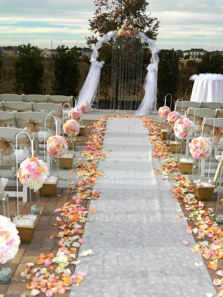 outdoor wedding aisle decor 80 best wedding decorations images on 6317