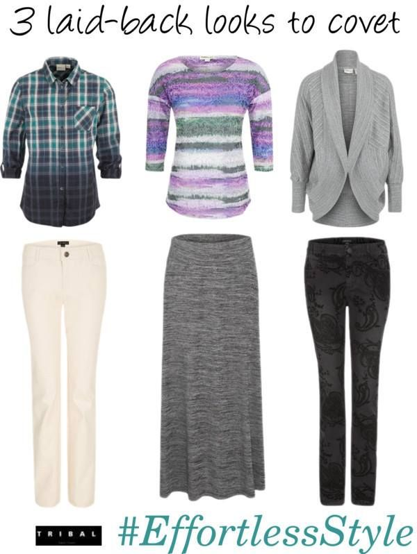 3 laid-back looks to covet #fallstyle #fallfashion #fashion #tribalsportswear #casual #looks #OOTD