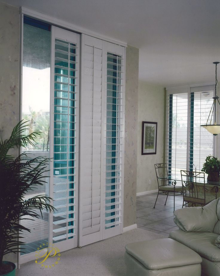 1000 ideas about sliding door treatment on pinterest for Window treatments for door walls