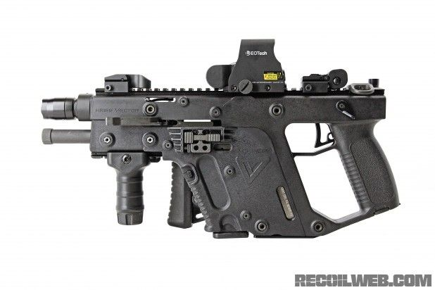 If Obama wins, honey we will need this.    Kriss Vector - Side View