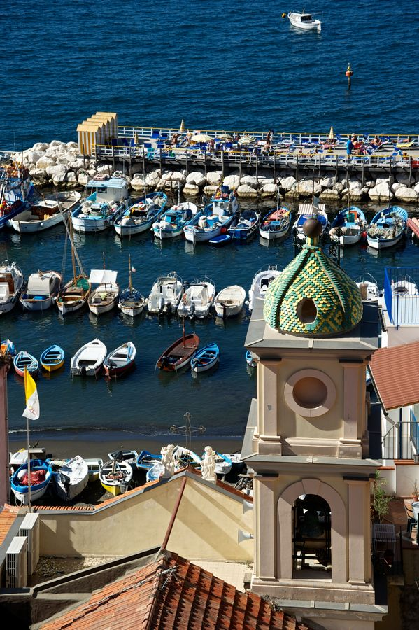 Beautiful image of Marina Grande, #Sorrento, Italy