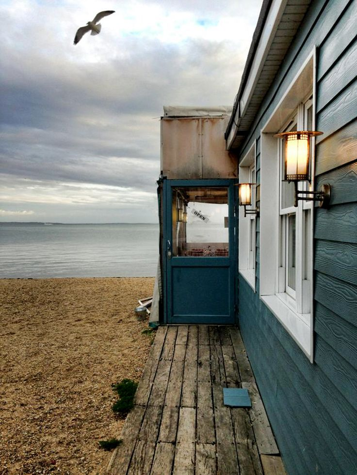 At the seaside, UK