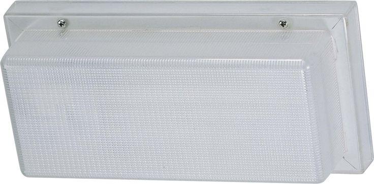 Essentials Compact Fluorescent 1 Light Outdoor Wall Light