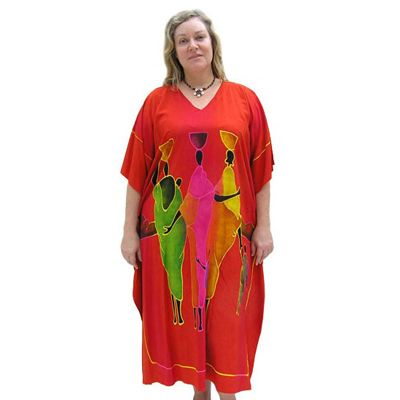 Sundrenched African Kaftan - $49.00 #kaftans #summerclothes #plussize