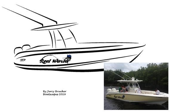 Download Custom From Your Boat Photo Line Drawing Clipart Personalized Etsy In 2021 Boat Silhouette Boat Cartoon Line Drawing