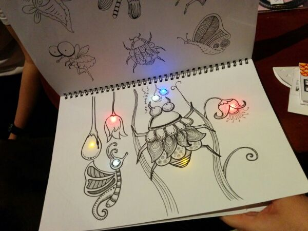 paper circuits art ideas - Google Search