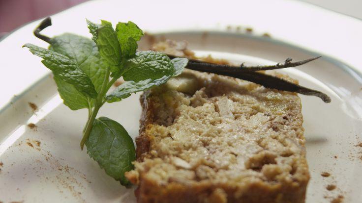 Gezonde appelcake met havermout - Piet Huysentruyt @ De keuken van Sofie