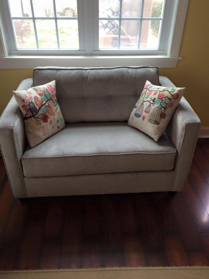 Elizabeth Cuddler Sleeper Loveseat