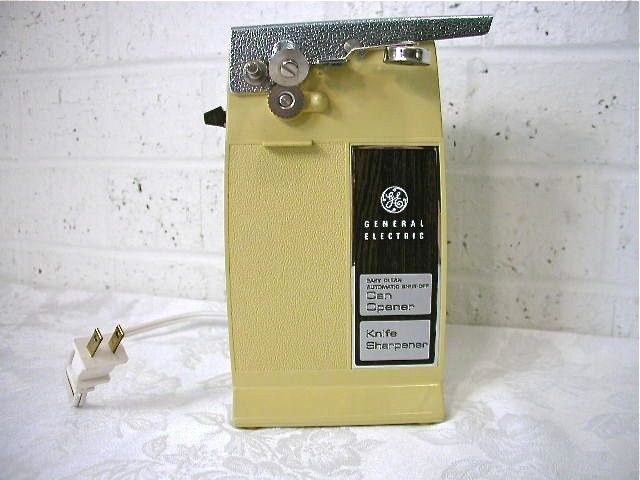 General Electric Can Opener & Knife Sharpener - I wish they still made these.