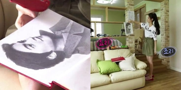 """Girl's Day Yura Surprises Viewers with Amazing Drawing of Husband Hong Jong Hyun on """"We Got Married"""""""