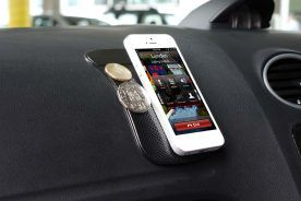 3 Pack Mobile Phone Non-Slip Dash Mat (Black)