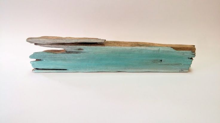 """""""Fogged In"""" oil painting on driftwood by Drifters Escape available at Harold + Ferne: The Local Goods Co."""