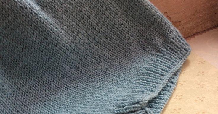 Cómo Tejer un Pantalón para Bebé con Dos Agujas - El blog de Blanqui
