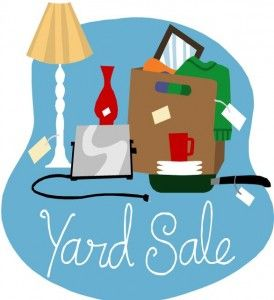 ideas for a yard sale