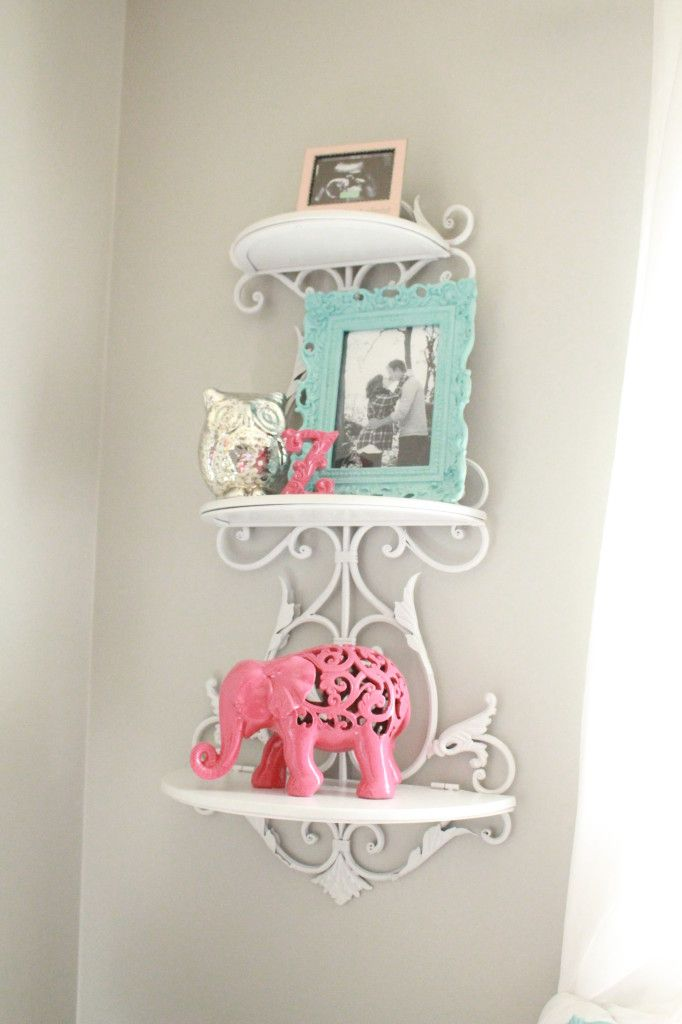 This repurposed nursery was so fun to put together. The only things that were purchased were the crib and the glider. Everything was repurposed or handmade.