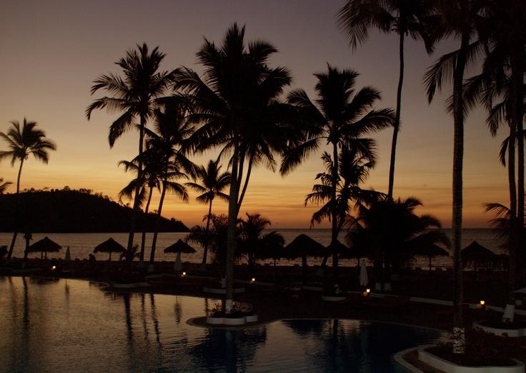 tramonto all'Andilana beach - Nosy be - Madagascar