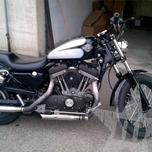 Harley davidson 883 xl 53C Custom - Nuovo annuncio #Harley #Sportster #Carburatore #883XL #ReggioEmilia