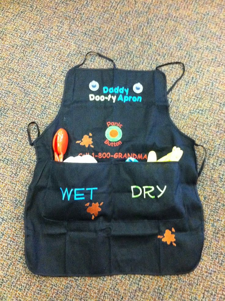 Daddy Dooty Apron Just In Time For Father S Day Or Baby