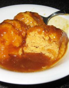 Golden Syrup Dumplings  -Divine winter food. -Melissa