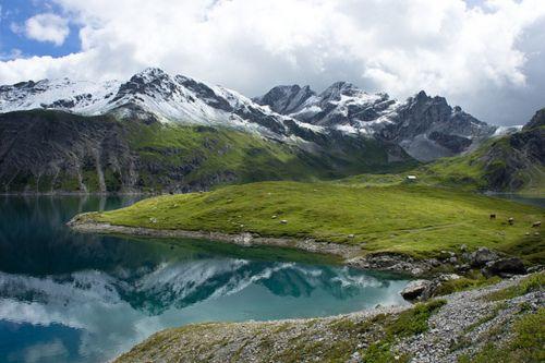 Lünersee, Austria