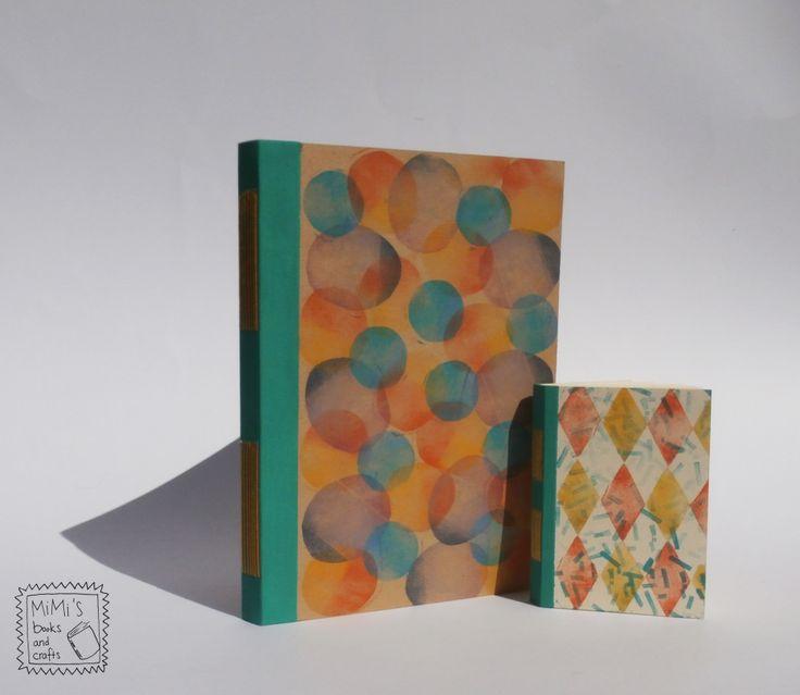 hand printed soft cover books - spring 2014