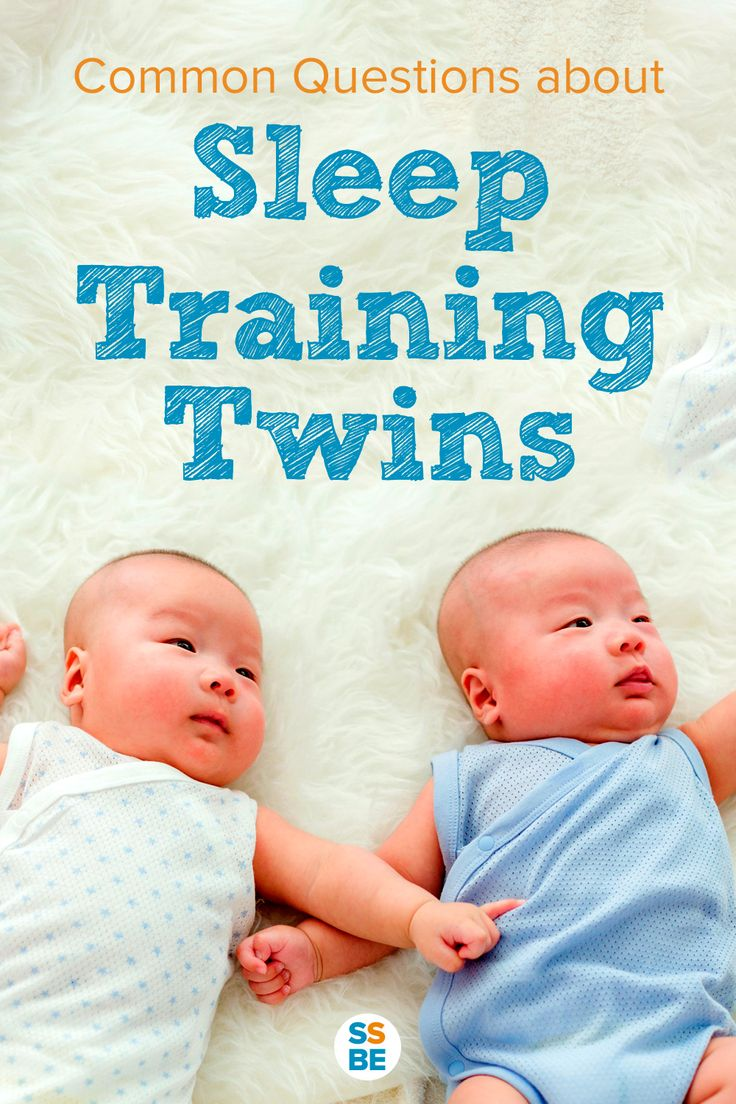 You're ready to start sleep training twins but have a few questions. Here are the most common questions and answers you need to know before you begin.