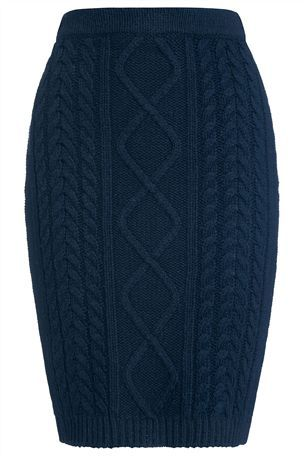 Buy Cable Knit Skirt from the Next UK online shop
