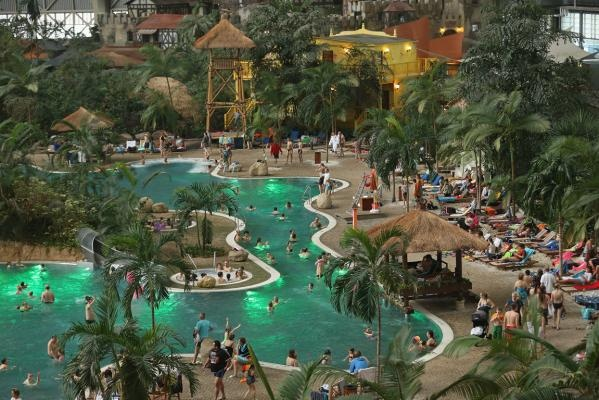 Indoor tropical island, Germany. This is so on my bucket list!!