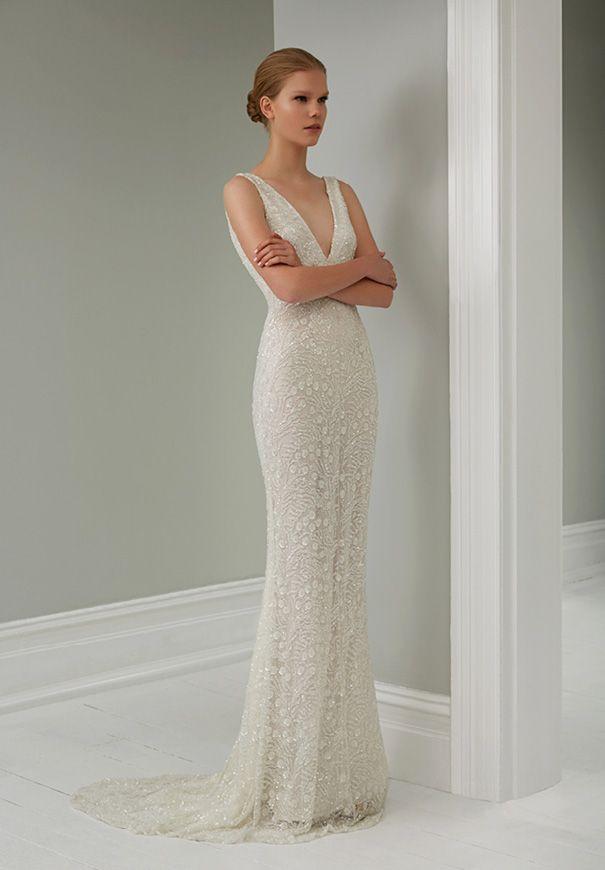 115 best Steven Khalil images on Pinterest | Wedding dressses ...
