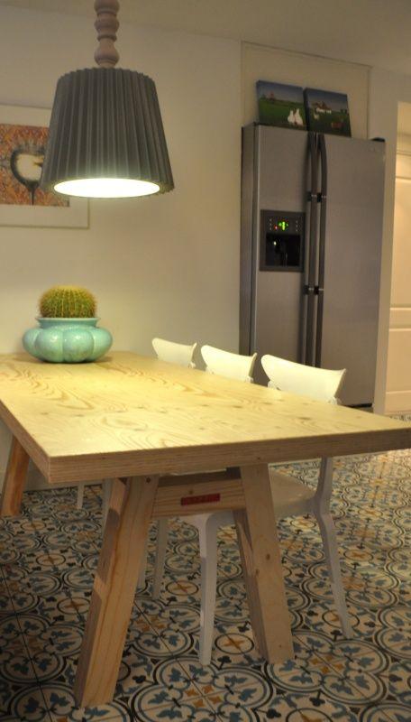 STERK tafel / bank T01 | STERK-design binnen/buiten