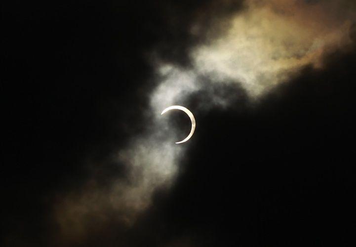 Solar Eclipse Photos 2012. Taipei, Taiwan.