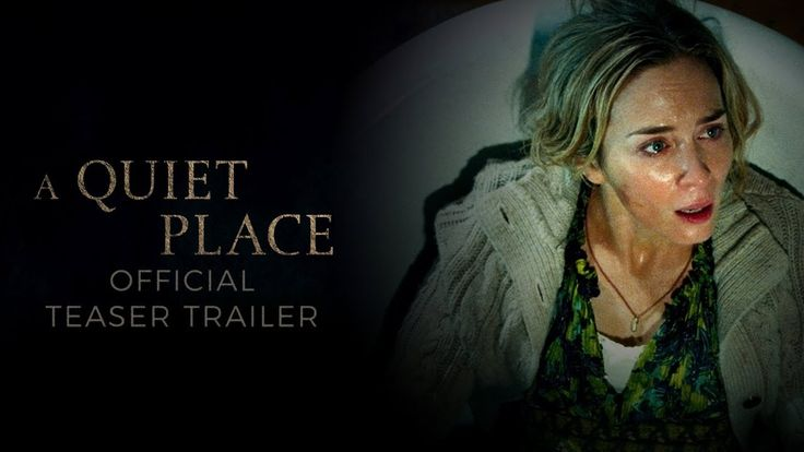 A QUIET PLACE starring Emily Blunt & John Krasinski | Official Teaser Trailer | In theaters April 6, 2018