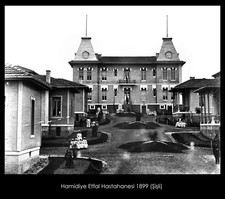 İstanbul-Yıldız Albümleri, Hamidiye Etfal Hastahanesi 1899 (Şişli) Hüsameddin