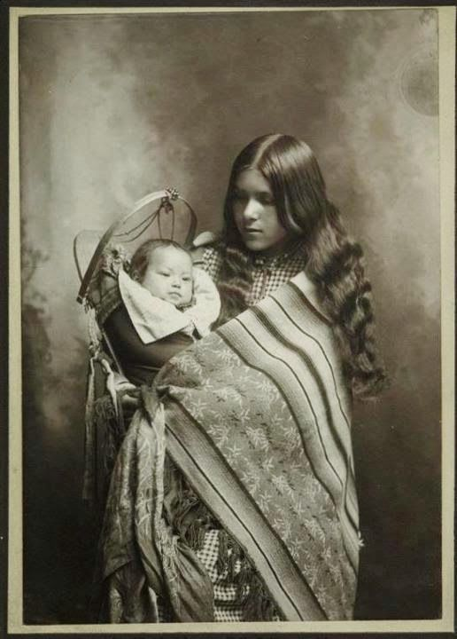 vintage everyday: Portraits of Native People from North America in Old Pictures