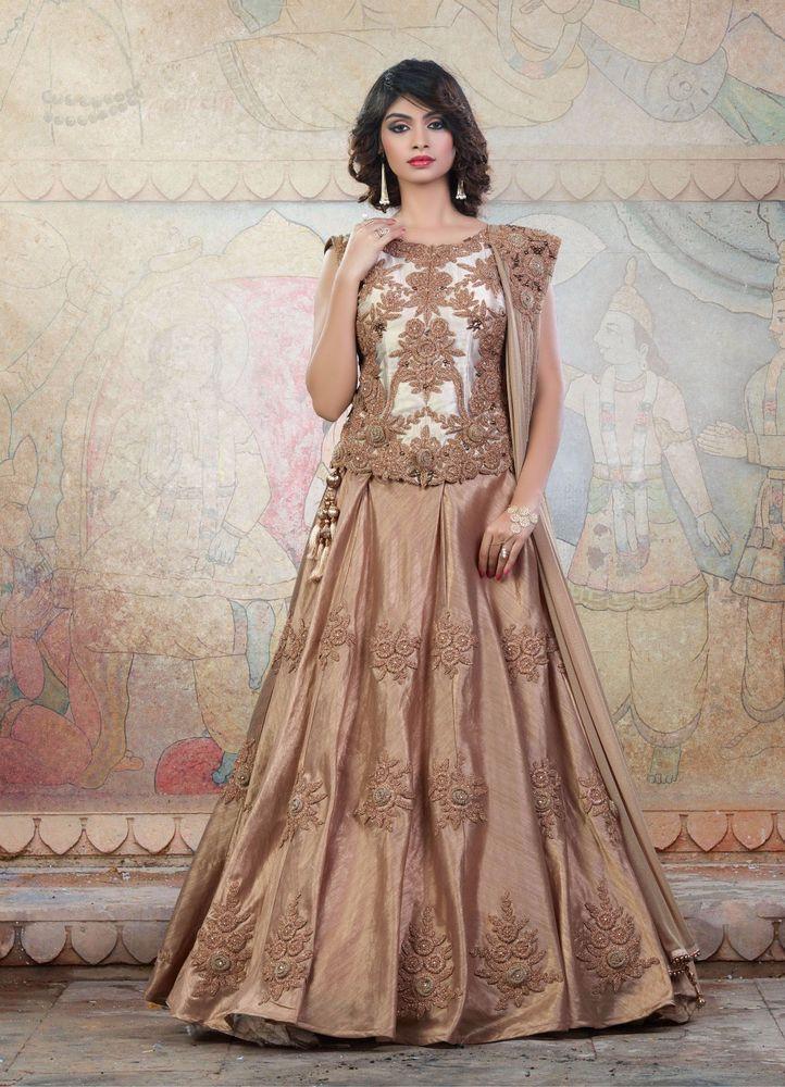 Wedding Bollywood Traditional Pakistani Bridal Lehenga Choli wear Indian Ethnic #TanishiFashion