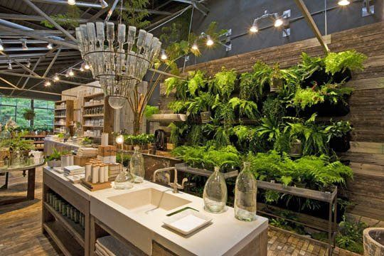 What's going on with that light fixture?  I love it!  Terrain's Cadillac of Garden Stores