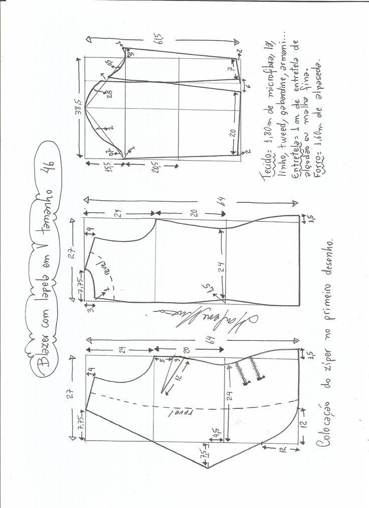 Mejores 8 imágenes de yupi en Pinterest | Patrones de costura ...