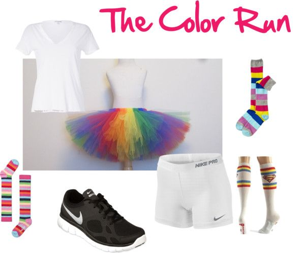 """The Color Run Inspiration..."" by natalee-dehart on Polyvore"