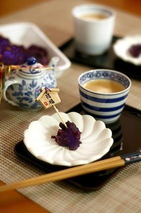 鏡開き/紫芋のねりくり