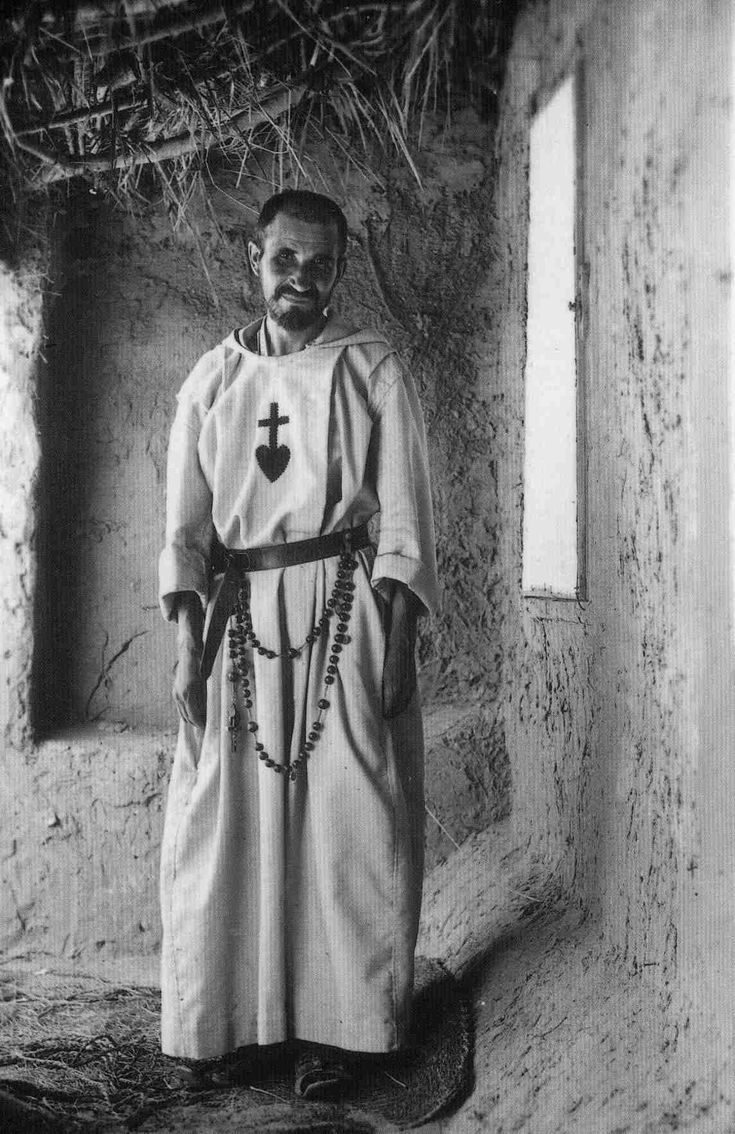 """""""It was not by His divine words, not by His miracles, not by His good works that Jesus saved the world; it was by His cross.""""  blessed charles de foucauld"""