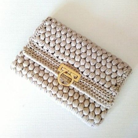 Crochet clutch Mais