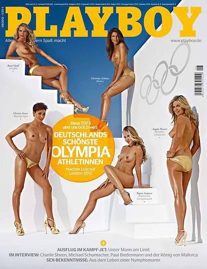German Olympic Playboy Issues (2004, 2008, 2012, 2016) | Oglympics
