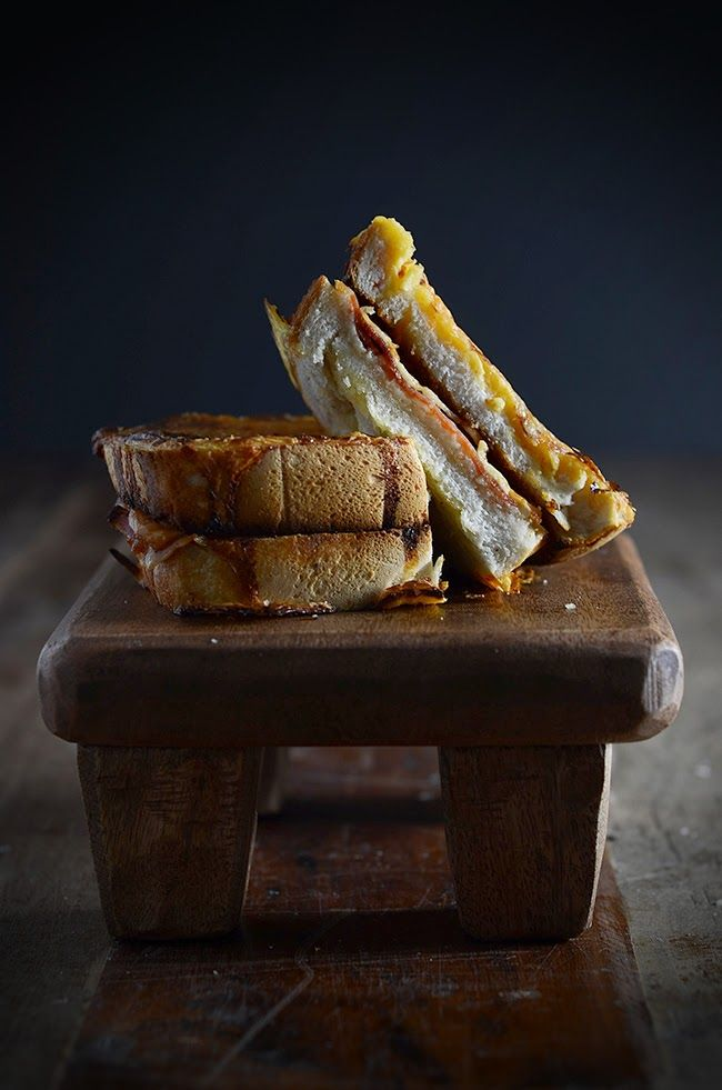 Prosciutto and Manchego Croque Monsieur Recipe - Chew Town Food Blog