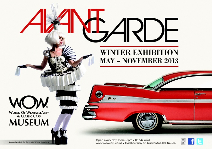 World of WearableArt & Classic Cars Museum, Nelson, New Zealand