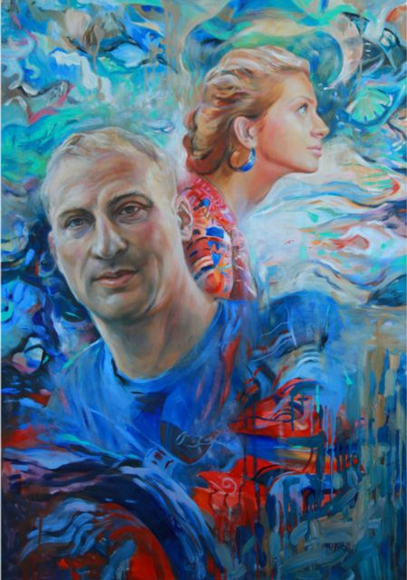Hasya&Leonid oil/canvas/sold