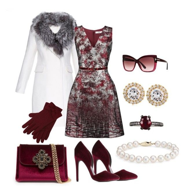 """""""Bisou Bisou"""" by thoughts-of-thea ❤ liked on Polyvore featuring Charlotte Russe, Diane Von Furstenberg, Bebe, Prabal Gurung, M&Co, CZ by Kenneth Jay Lane, Jack Vartanian, SIYU, Tom Ford and Blue Nile"""