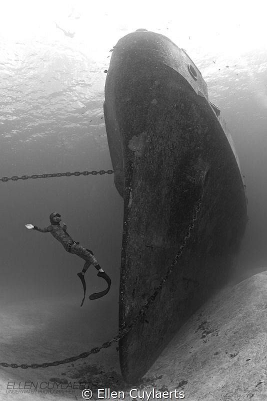 Not sure what wreck this is www.flowcheck.es  Taller de equipos de buceo #buceo #scuba #dive
